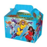 Miss Super Hero Meal Party Box